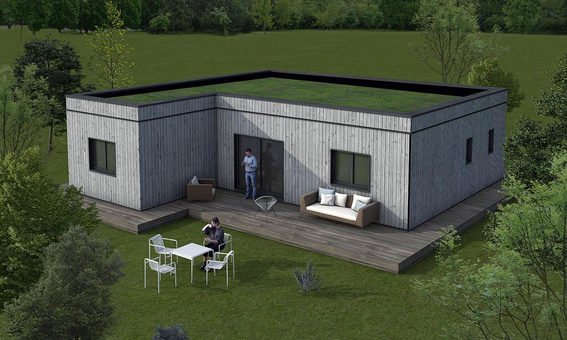 Plan maison passive SMOME